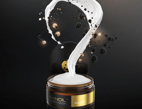 najlepsza keratynowa maska na włosy nanoil