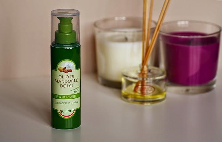 Olejek migdałowy marki Equilibra – olejowy ulubieniec