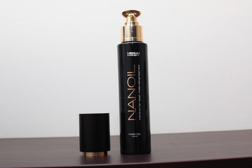 Recenzja bestsellera: olejek Nanoil do włosów średnioporowatych
